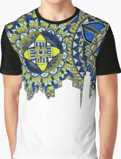 Zentangle City Pisa Graphic T-Shirt