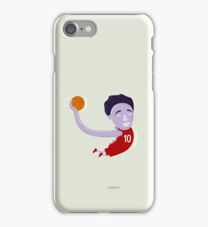 Straight outta Demar Derozan iPhone Case/Skin