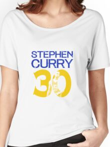 stephen curry 30 Women's Relaxed Fit T-Shirt