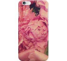 Pinky Peonies iPhone Case/Skin