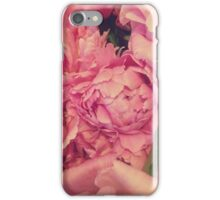 Pinky Peonies iPhone Case/Skin