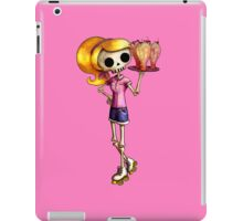 Skeleton Pin Up Girl Waitress iPad Case/Skin