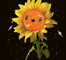 Sunflower In Space! by RonanLynam