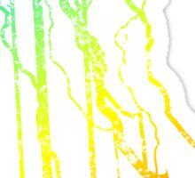 delaware chill blur Sticker