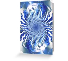 Blue Focal Point Greeting Card