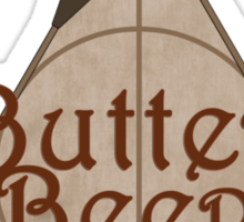 Fictional Brew - Butterbeer Sticker