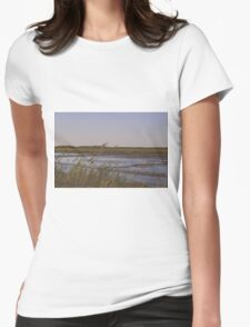 Bombay Landscape Womens Fitted T-Shirt