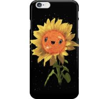 Sunflower In Space! iPhone Case/Skin