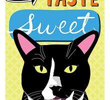 Cats can't taste sweet by missmewow