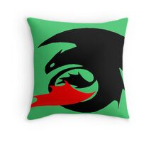 How to Train Your Dragon 03 Throw Pillow
