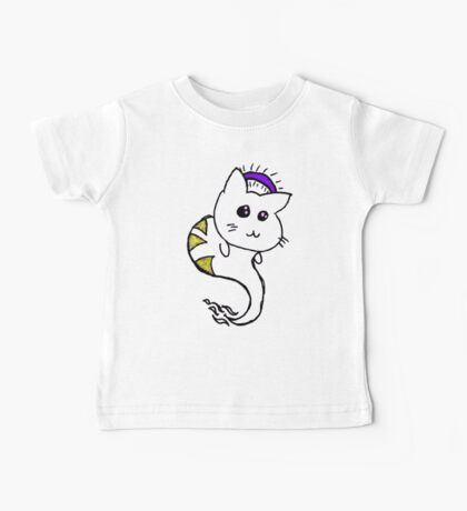 He's a good kitten (Purple) Baby Tee