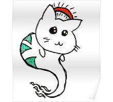 He's a good kitten (Red) Poster