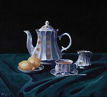 Lemons and Tea by Anastasiya Malakhova