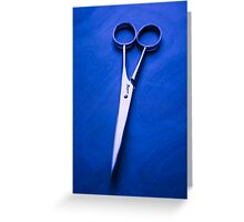 Nogent Scissors Greeting Card