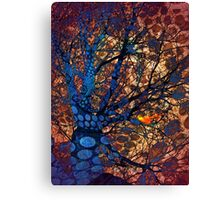 Autumn in The Magical Forest Canvas Print