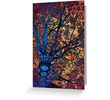 Autumn in The Magical Forest Greeting Card
