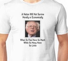 A NATION...(BERNIE QUOTE) Unisex T-Shirt