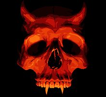 Devil Skull by SJ-Graphics
