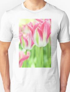 Tulips in Pink Unisex T-Shirt