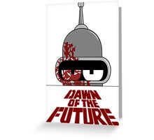 Bender Dawn of the Future - Light Greeting Card
