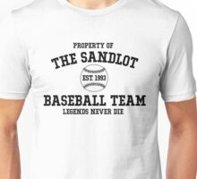 The Sandlot Baseball team Unisex T-Shirt