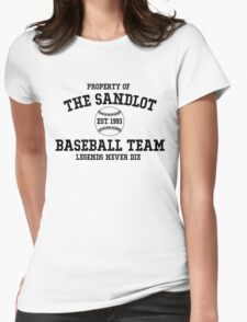 The Sandlot Baseball team Womens Fitted T-Shirt