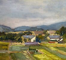 Landschaft in North Austria by Bridgeman Art Library