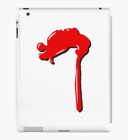 blob blood iPad Case/Skin