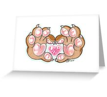Love Paws! Greeting Card