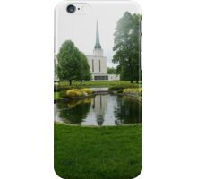 The London Temple, Lingfield, Surrey iPhone Case/Skin