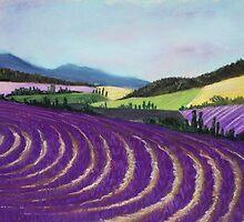 On Lavender Trail by Anastasiya Malakhova