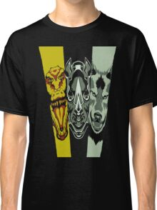 Zyuoh The World - Rhino, Crocodile, Wolf Classic T-Shirt