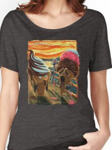 The Scream ICE CREAM SCREAMS Women's Relaxed Fit T-Shirt
