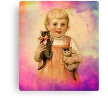 THIS GIRLS LIFE 3 Canvas Print