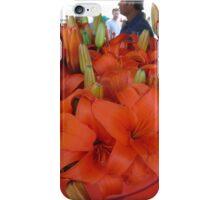 Vibrant flower selcetion at Farmer's Market iPhone Case/Skin