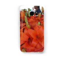 Vibrant flower selcetion at Farmer's Market Samsung Galaxy Case/Skin