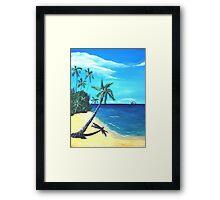 Ocean View - part one Framed Print