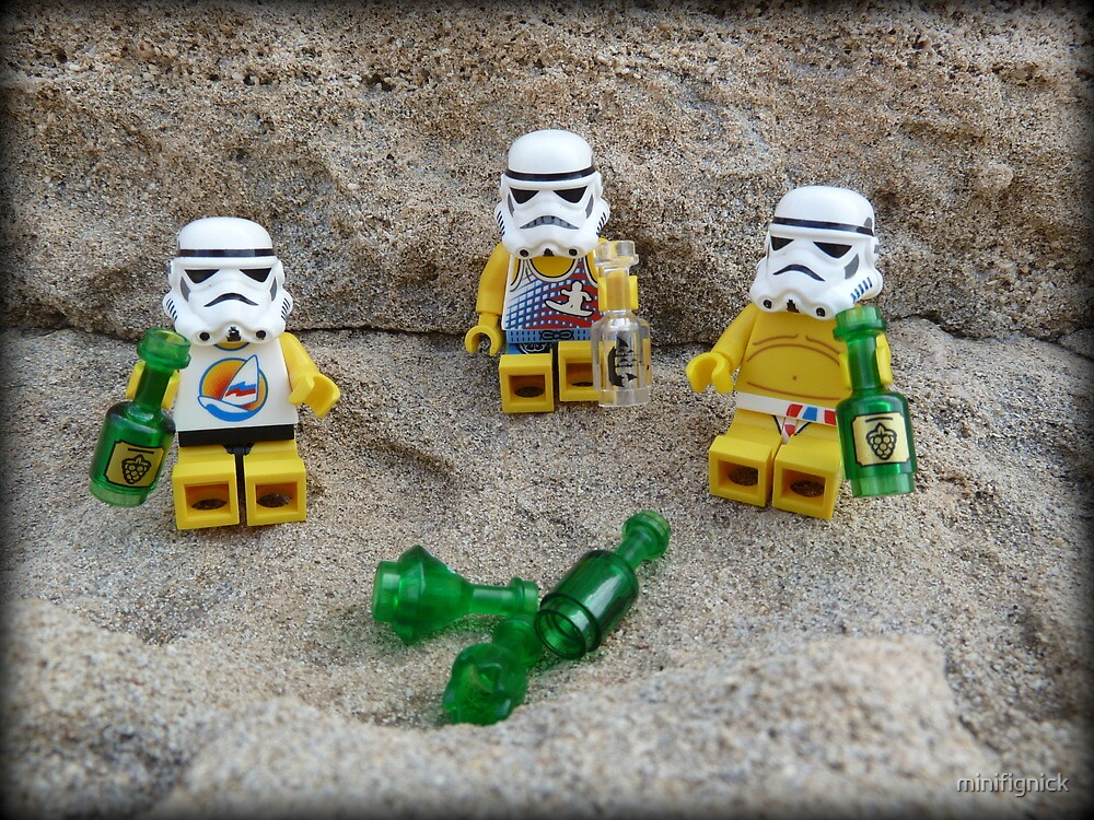 Stormtroopers Holiday by minifignick