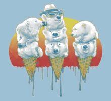 Polar Bear Summer POLAR CONES Baby Tee