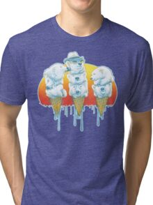 Polar Bear Summer POLAR CONES Tri-blend T-Shirt