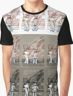 Rush Hour Parking, Too Graphic T-Shirt