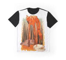 Abnormally Tall Desert Coyote Graphic T-Shirt