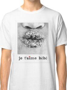 Je T'aime bebe - I love you baby - Pucker lips  Classic T-Shirt