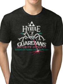 Zelda Breath of the Wild Hyrule Guardians Tri-blend T-Shirt