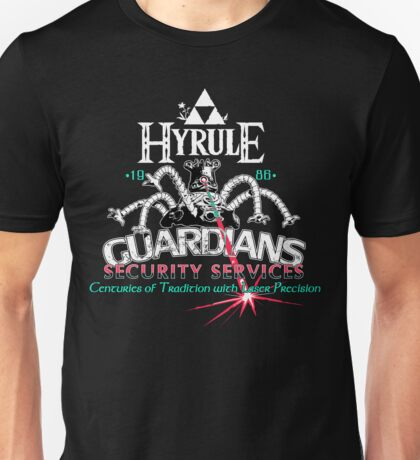 Zelda Breath of the Wild Hyrule Guardians Unisex T-Shirt