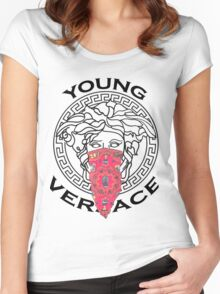 young versace Women's Fitted Scoop T-Shirt