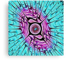 Ice Dragon Eye Canvas Print