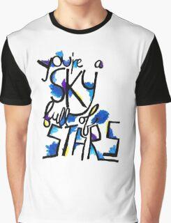 Sky Full of Stars (painted) Graphic T-Shirt