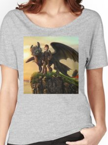 How to Train Your Dragon 09 Women's Relaxed Fit T-Shirt