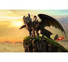 How to Train Your Dragon 09 Photographic Print
